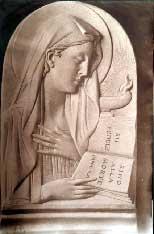 Icona raffigurante la Virgo Fidelis