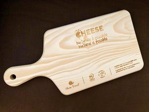FOTO F - Leonardi Wood - Tagliere formaggio Slow Food