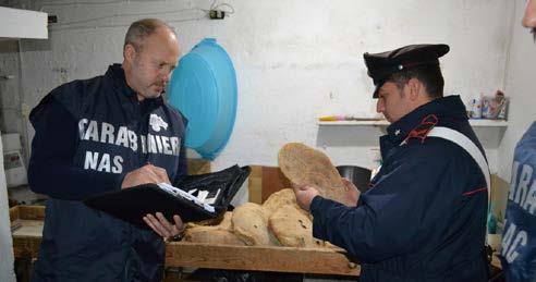 Controlli dei NAS dell'Arma dei Carabinieri
