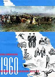 Calendario 1960.1960